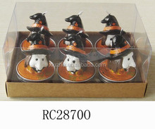 spirit festival decorative candles gift candle pillar candle pumpkin candle witch candle