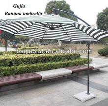 10' Offset Outdoor Patio Umbrella Gazebo - Blue