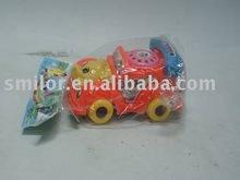 Pull String Cartoon Telephone Car Toy