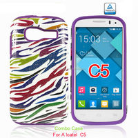 printing case for alcatel one touch pop c5