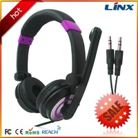 gaming earmuff headset and headphone with custom design