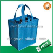Hot Selling tote bag/Durable tote bag/4 bottle wine tote bag