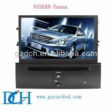 touch screen car dvd gps for nissan teana WS-9102