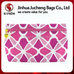 Wholsale fashion cheap custom makeup bag beauty cosmetic case for ladies