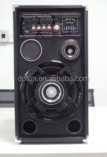 New Pattern colorful light HIFI stereo speaker system