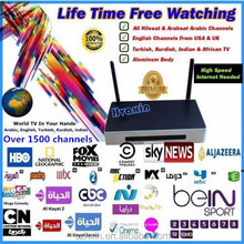 full hd 1080p porn video android tv box over 2000 Arabic+indian+english+African channels server, quad core arabic tv box 2015