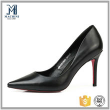 Trendy made in China genuine leather fashion shoes for women