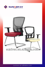 hot sale dining plastic mesh back chair parts