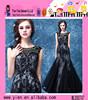 Best Long Black Evening Dress 2015 New Design Ladies Fashion Best Long Black Evening Dress