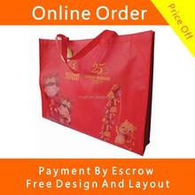 Winter Cloth Big Size Non Woven Lamination Shopping Tote Bags