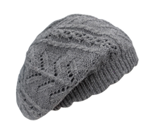 Wholesale baby knitting double children pure color wool hat