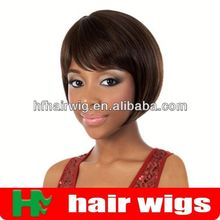 red synthetic hair lace front wig