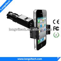Quality smart phone e-cigarette holder usb charger car (HC-34)