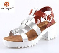 2015 new style summer jelly sandals pvc upper high heels melissa shoes fashion plastic lady sandals woman shoes