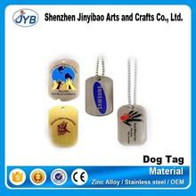 2015 top grade brand logo metal tag manufacturer