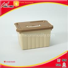 6L good quality plastic storage box for clothing