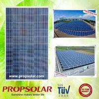 OEM Service paneles solares de 259w with full certificate TUV CE ISO INMETRO