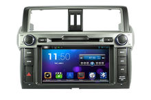 Pure android 4.2.2 Car DVD Player for Toyota Prado 2014 with CPU Dual Core Radio Tape Recorder Stereo