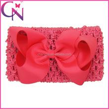 Hot Selling Large Grosgrain Hair Bow Headband Hair Accessories For Girls CNHB-1308285-13