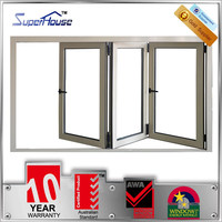 beautiful new product glass bifold window aluminium side opening window