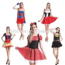Instyles Costume Fancy Dress Halloween Super mulher herói maravilha mulheres