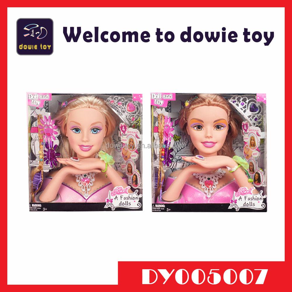 Голова для макияжа кукла