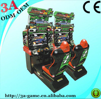 Coin Operated Midnight Maximum Tune 3dx Simulator Video Motorcycle Arcade Car Racing Game Machine