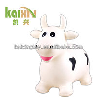 rubber inflatable bouncy animals for kids