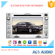 car dvd player with gps navigation system/bluetooth/TV/radio function for VOLKSWAGEN PASSAT