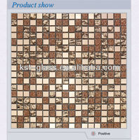 tiny small size 10x10 glass mirror mosaic tile
