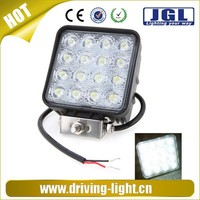 Motorcycles ,cars,boats led driving light 48w 10-30v off road led work light 4x4