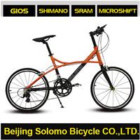 """SOLOMO C520 Leisurely 20"""" 16S Aluminium Alloy V Brake Road Bike"""