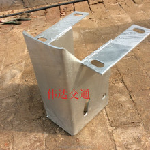 Highway guardrail panels special obstruction block
