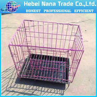 Pet Folding Steel Crate Animal Wire Metal Cage
