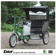 Manual Pedicab Rickshaw for Passenger