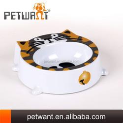 Original Manufacture of Dog Face Shaped Wholesale Melamine Bowls