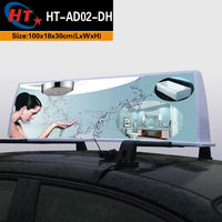 Taxi accessories led lighted car roof top advertising