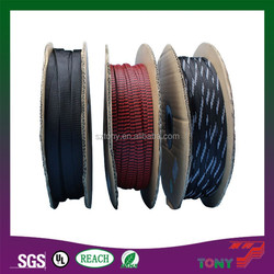 Expandable Braided PET / Nylon Cable Protection Sleeve