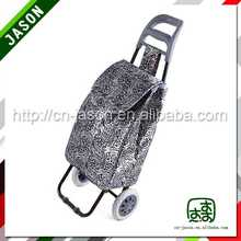 hand cart fashion designer clear tote bags