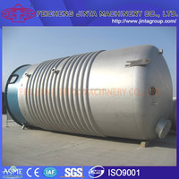 Stainless steel high quality water small vertical pressure vessel