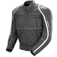 Biking Exclusive Brand Stealth Motorbike Leather Jacket Motorcycle Protection Armour CE Approve Jacket