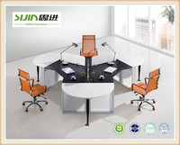 4 person particle staff desk,Particle Office Table,Office workstation