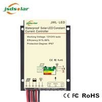 30W COB Solar LED street light charge controller with constant current LED Driver, Dimming function and dusk to dawn timer