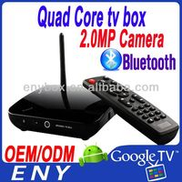Factory Supply RK3188 Quad core watch free movies online internet tv box top selli with camera and mic EKB312