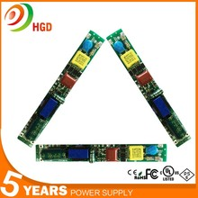HG-503 Open frame led switching mode power supply t8 led light driver 22w T8 tube with 5 years warranty