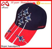 American soldiers sport baseball cap