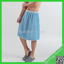 Promotional Super Soft Coral Fleece Men Bath Skirt
