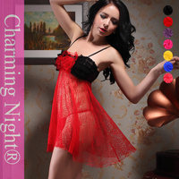 2015 China sexy night transparent lace lingerie sexi love doll 8122