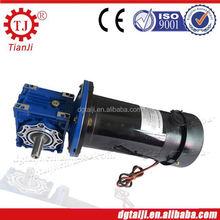 Réducteur de ver micromotor dc moteur réducteur pour le robot, moteur à courant continu