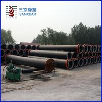 PE 100 200mm hdpe water pipe sdr17 pn10